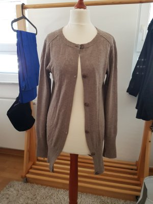 CASHFLOW Knitted Cardigan grey brown cashmere