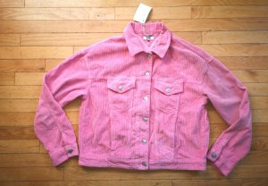 coole Cord Jacke Gr. 40=L in rosa von Tommy Hilfiger, NEU mit 2 seitl. Taschen