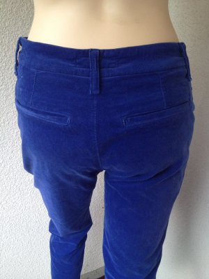 Holiday Pantalone di velluto a coste blu