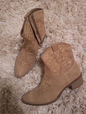 Ankle Boots taupe-light brown