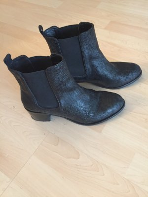 Coole Cox Chelseaboots in schwarz