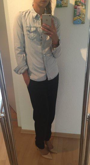 Coole Denim Bluse von Topshop
