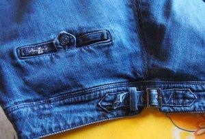 7 For All Mankind Denim Flares blue-dark blue cotton