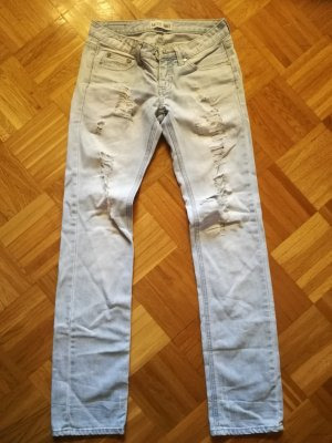 MISS ANNA Low Rise jeans azuur