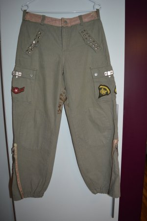 Coole Dolche&Gabbana coole Hose mit Patches so Baggy Style Gr. 38