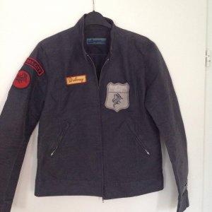 Coole dünne Jacke mit Patches von DKNY, dunkelgraublau