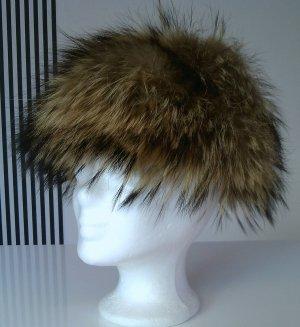 Coole echt Pelz Mütze, wie zweites Haar