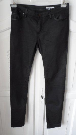 coole EDC by Esprit Stretch Hose Gr. 40 long beschichtet Schwarz nur 1 x getragen
