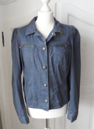 coole Esprit Jacke Jeansjackenstil Gr. 42 Graublau wenig getragen