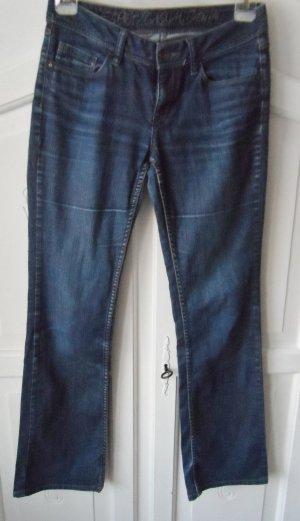 Esprit Boot Cut Jeans blue copper rayon