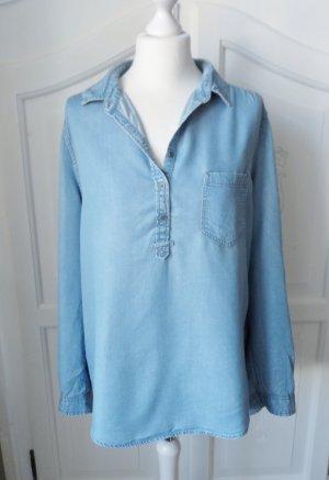 coole Esprit Jeans Tunika Gr. 42 aus Lyocell wenig getragen