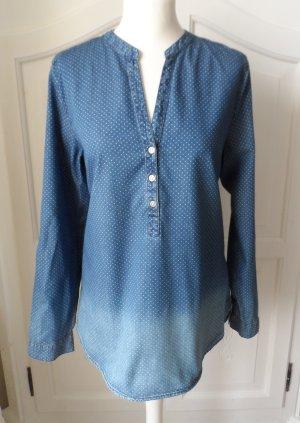 coole Esprit Jeans Tunika mit Punkten Gr. L wenig getragen