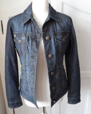 coole Esprit Jeansjacke Gr. L (40) dark denim nur 2 x getragen