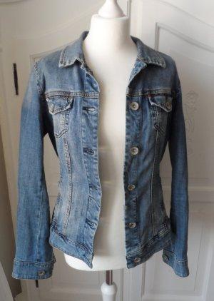 Esprit Denim Jacket blue mixture fibre
