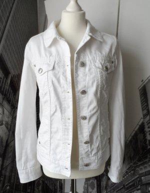 coole Esprit Jeansjacke Gr. L (40) weiß nur wenig getragen