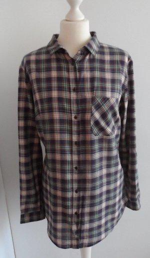 coole ESPRIT Karo Bluse Gr. 42 Bunt wenig getragen