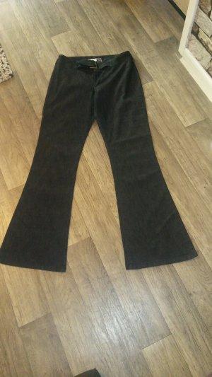 His Jeans a zampa d'elefante blu scuro-blu Cotone