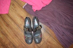 Coole flache Schuhe mit Riemchen Gr.39 S. Oliver