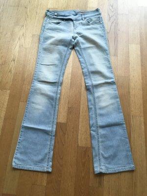 Jeans gris clair
