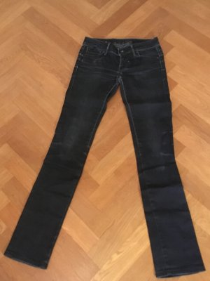 Coole G-Star Jeans Blauschwarz slim fit