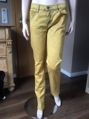Coole gelbe Baumwoll-Jeans von Cheap Monday