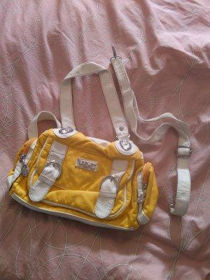 Coole gelbe Shopping bag Tasche Handtasche