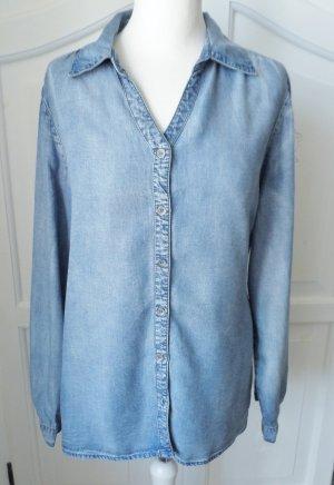 Gina Benotti Blouse en jean bleu lyocell