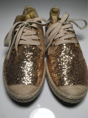 Coole Glitzerschuhe