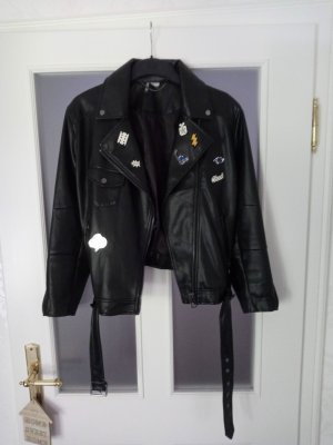 H&M Divided Veste motard noir
