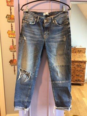 Coole H&M boyfriend Jeans destroyed look 38-40