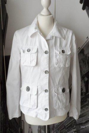 coole H&M Jacke Gr. 40 weiß wenig getragen