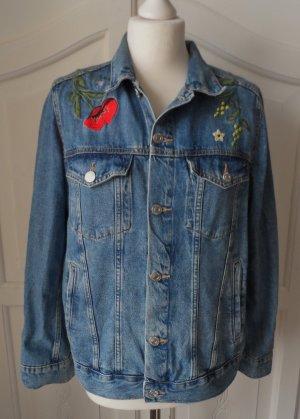 H&M Denim Jacket blue cotton