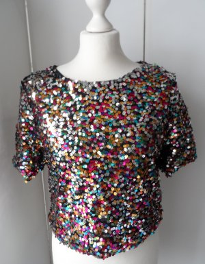H&M Splendor Blouse multicolored polyester