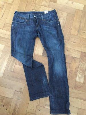 Coole Herrlicher Jeans, Gr. 30/32, tiefer Sitz, gerades Bein