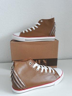 Coole High Sneaker Zipper Khaki