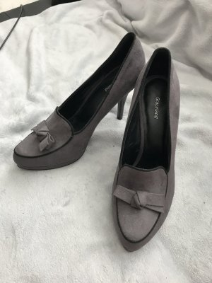 Coole Highheels im Loaferstil