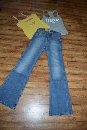 Coole Hilfiger Denim Hipster Jeans Gr. 32 /XXS