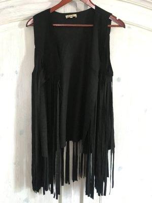 Kimika Fringed Vest black