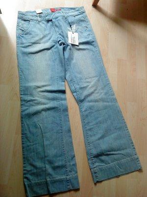 coole Hippie-Jeanshose Größe 42 von Vero Moda Inch 32/36
