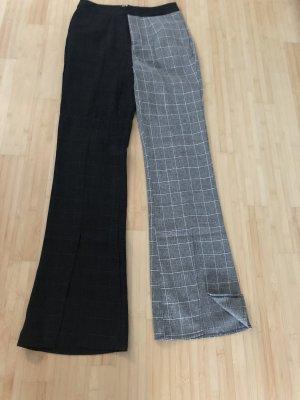 Pantalón de campana negro-gris