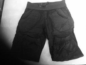 H&M Pantalon 3/4 noir-gris anthracite