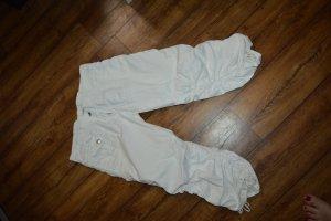 Pantalón abombado blanco