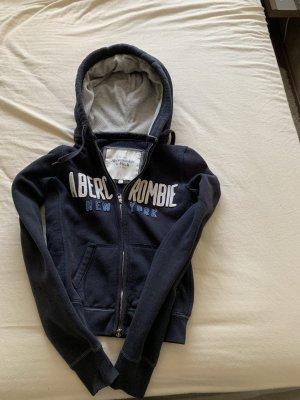 Abercrombie & Fitch Sweatjack donkerblauw