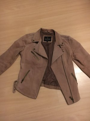 Review Biker Jacket camel
