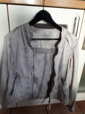 Cecil Short Jacket light grey-grey