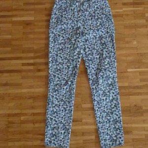 Pantalone a vita bassa multicolore Cotone