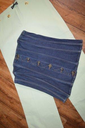 Coole Jeans Corsage Dunkelblau Gr. S von Dolche&Gabbana