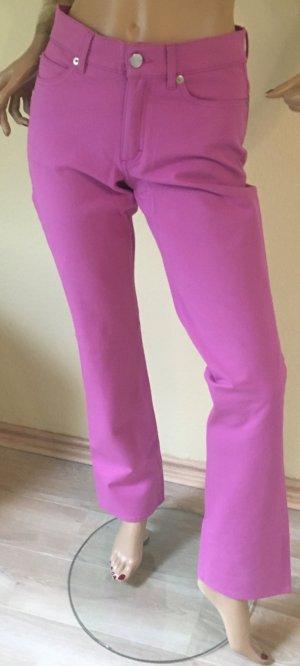 Escada Vaquero elásticos rosa neón Algodón
