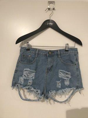 Coole Jeans Hotpants von SHEIN