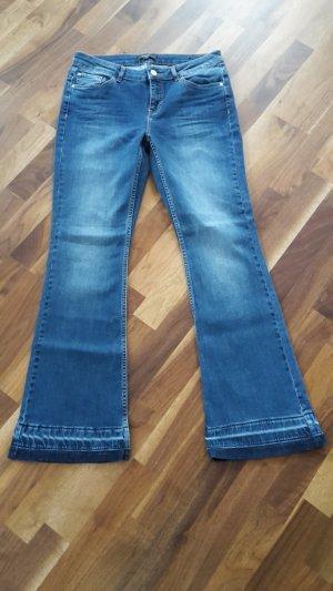 Coole Jeans im Vintage-Look von Comma